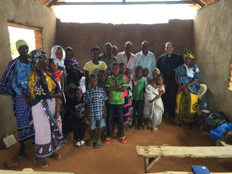 The Karumba sub-congregation of the Kihirio Lutheran Parish in Tanzania.