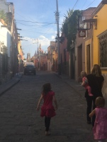 Walking the streets of Centro.