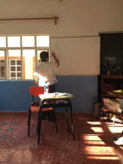Socorro, my teacher.