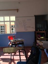 My classroom.