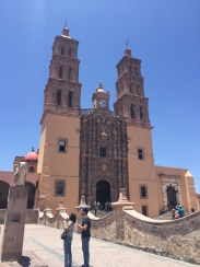 Cathedral in Doloras Hildago, an important town in Mexico's independence from Spain.