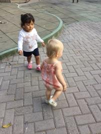 Norah made a friend!