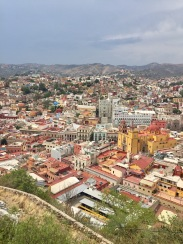 View of Guanajuanto from the Mirador