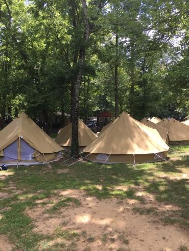 Our tent village